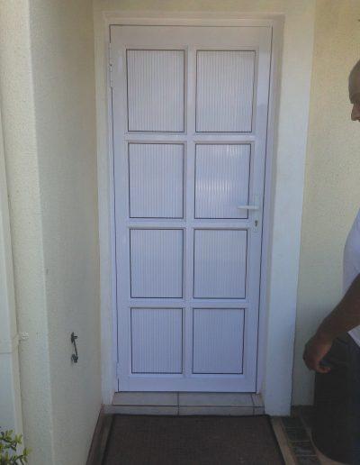 Alucity Cottage Pane Door 8 Panel Cladding