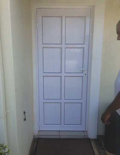 Alucity Cottage Pane Door 8 Panel Cladding