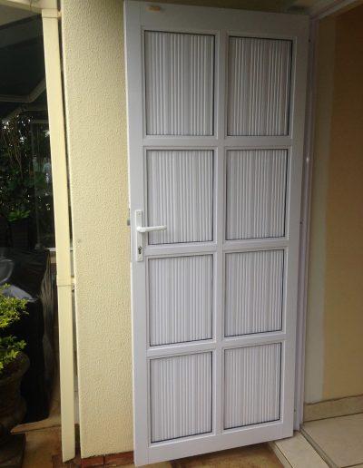 Alucity Doors Cottage Pane 8 Panel Cladding