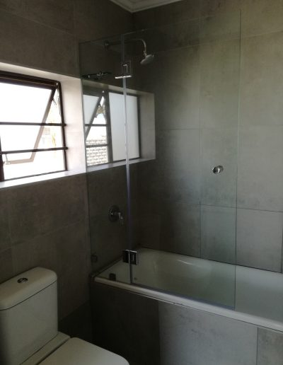 Alucity Frameless Glass Showers